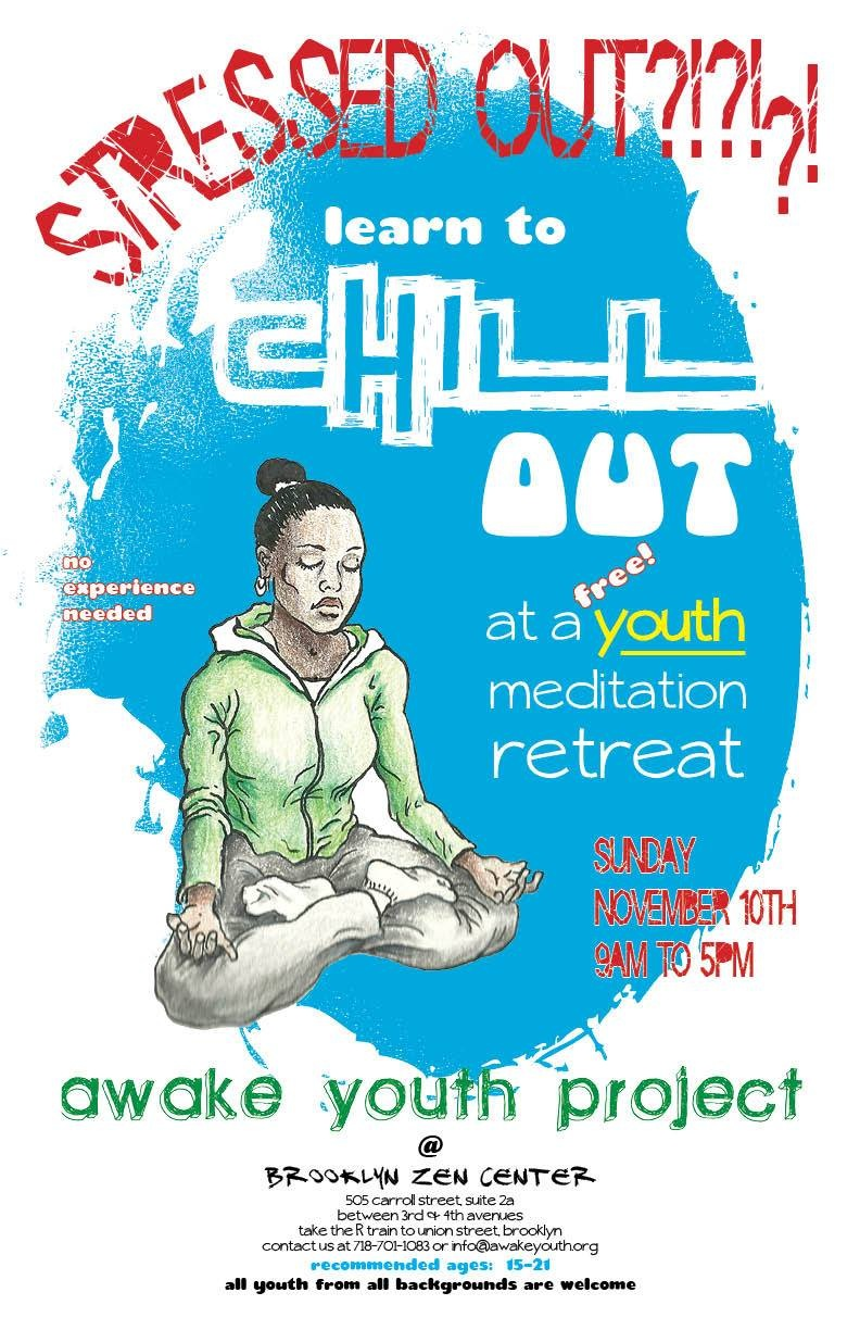 teen meditation retreat