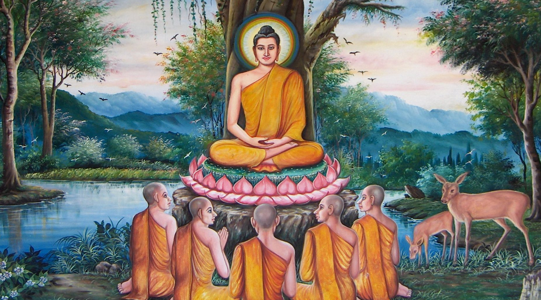 The Four Noble Truths online class, starting April 16